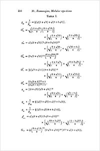 Pages from a paper of Ramanujan's