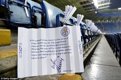 Free note for fans of LCFC from the team