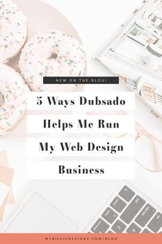5 Ways Dubsado Helps Me Run My Web Design Business — My Billie Designs Web Design, Graphic Design, Email Marketing Lists, Digital Marketing, Creating A Newsletter, Make A Proposal, Web Company, Blog Online, Business Design