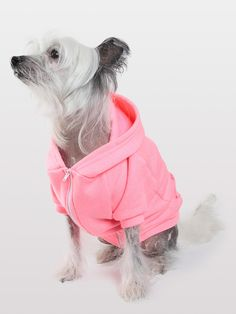 Flex Fleece Dog Zip Hoodie | Clothing & Accessories for Pets | American Apparel