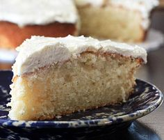Vanilla Bean Cake With Old-Fashioned Vanilla Frosting