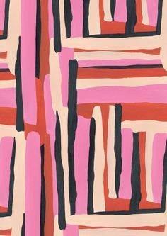 Image about pink in Wallpapers 📱💻🌸🎨 by Leighton Geometric Patterns, Textile Patterns, Textile Design, Color Patterns, Print Patterns, Fabric Design, Fashion Patterns, Textiles, Design Patterns
