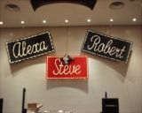 Name In Lights from Ideal Party Decorators - www.idealpartydecorators.com
