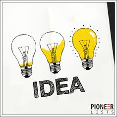 Proven ideas for great marketing - Pioneer Lists. https://goo.gl/yYpPsQ