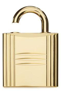 HERMÈS Pure perfume refillable lock spray gold available at Nordstrom Hermes Perfume, Filthy Rich, Golden Glitter, Nordstrom, Vintage Perfume, Smell Good, Branding Design, Perfume Bottles, Bling