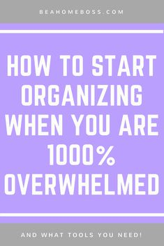 showing you step by step where to start and how to finish organizing your home! Declutter Your Home, Organize Your Life, Organizing Your Home, Organizing Tips, Organising, Decluttering Ideas, House Cleaning Tips, Spring Cleaning, Cleaning Hacks