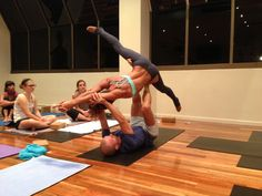 AcroYoga workshop with #yogabeyond
