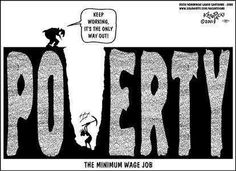 Minimum wage- Work for yourself and make maximum wage!
