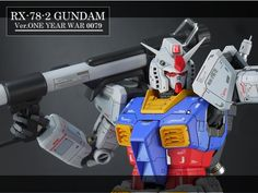 GUNDAM GUY: MG 1/100 RX-78-2 Gundam One Year War - Customized Build