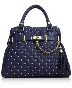 My steve madden handbag! It's awesome for travel or shopping, so much space