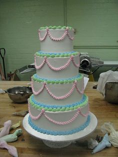 reminds me of my birthday cakes growing up.