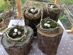 Woven Easter Nests