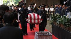 President Obama, Gov. Neil Abercrombie and other dignitaries attended a memorial service for the late Sen. Daniel Inouye on Sunday. (via AP)