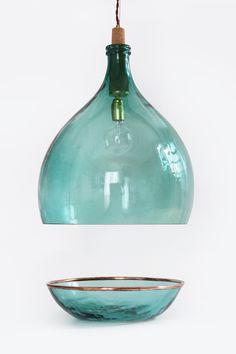 Vintage Demijohn Collection - Old, handmade wine demijohns  |  Luca Martorano and Mattia Albicini