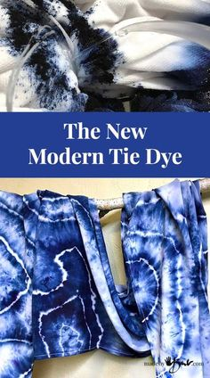 The New Modern Tie Dye - Made By Barb - tutorial - dyeing geode pattern Not the typical tie dye, much easier and more beautiful. Fibre reactive dye and a hot irrigation method make this super simple. How To Tie Dye, Tie And Dye, How To Dye Fabric, Diy Tie Dye Fabric, Tie Dye Tips, Tie Dye Tutorial, Tie Dye Folding Techniques, Fabric Dyeing Techniques, Reverse Tie Dye
