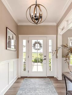 Entryway & Foyer Ideas Your entryway to your house is the first impression for your guest about the interior decoration of Entryway Light Fixtures, Farmhouse Light Fixtures, Entryway Lighting, Farmhouse Lighting, Entryway Decor, Door Entryway, Entry Way Lights, Dinning Room Light Fixture, Entry Way Lighting Fixtures