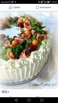 Sandwich Cake, Sandwiches, High Tea, Food Art, Camembert Cheese, Cheesecake, Food And Drink, Desserts, Recipes