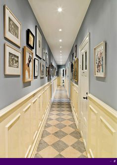 1000 images about narrow hall ways on pinterest narrow. Black Bedroom Furniture Sets. Home Design Ideas
