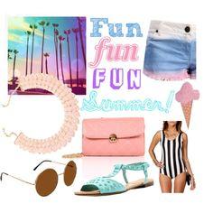 Fun, fun, fun, SUMMER! by windsorstore on Polyvore