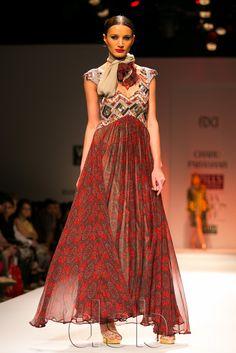 Delhi Style Blog: Charu Parashar Autumn Winter 2013 WIFW