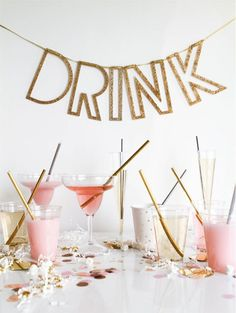 10 tips to decorating for your New Year's Eve party. Learn how to decorate your home for NYE.