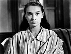Audre Hepburn. Roman Holiday