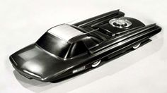 Do not be alarmed, that is not a roulette table on the back of the Ford Nucleon concept. In actual f... - Ford