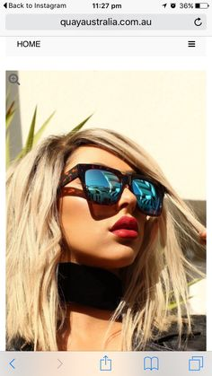 2afd0fddf82 Quay X Chrisspy Mila Tortoise Blue Mirror Sunglasses Retro Sunglasses