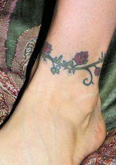 Tattoo Designs | Tattoo Ideas: Sexy Ankle Tattoo Designs For Women
