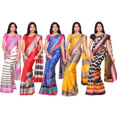Buy Shyamala 5 Bhagalpuri Saree Collection @ affordable cost on Shopping Zone. Free shipping, COD and 100% customer satisfaction. Bhagalpuri Material and 6.3 Mtrs With Blouse. click here to know the best price - bit.ly/1TKbYvj Also view more stunning saree collections @ bit.ly/1U2Y3kC #saree #sarees #bhagalpurisaree #sareeonlineshopping #sareeonline