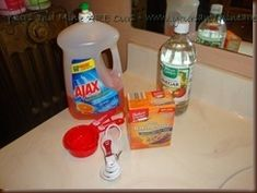Homemade Floor Cleaner Recipe Ingredients