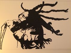 Bob Marley Painting (140x70) White and black Reggae Mama Afrika