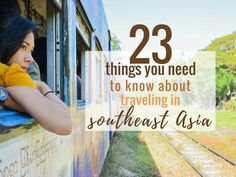 23 Traveling Southeast Asia Tips You NEED to Know http://hippie-inheels.com/traveling-southeast-asia-tips/