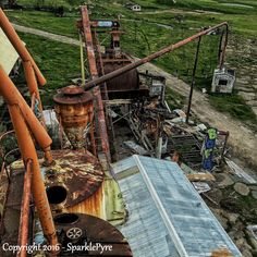 Abandoned Photography - View from the Top - 5 x 5 Matte Print - Abandoned…