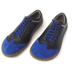Mens Camper Shoe In Black Blue