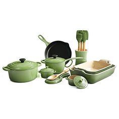 Le Creuset Palm 19 Piece Cookware Set ** Read more at the image link. (This is an affiliate link and I receive a commission for the sales)