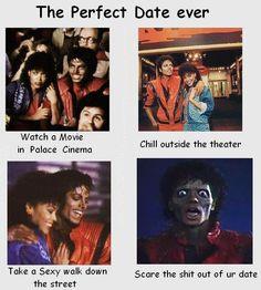 DATING-Michael Jackson Style -Hahahahahahaha I can't even... Hahahahahahaha-