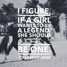 Of course! And each of us can be that girl!