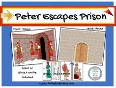 82 Best Peter Escapes Images In 2018 Sunday School