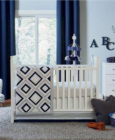 Jonathan Adler Happy Chic Taylor Crib Bedding Collection - Kids' & Baby Room…