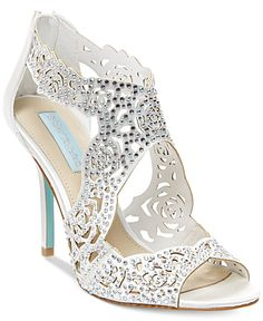 Blue by Betsey Johnson Livie Evening Sandals - Evening & Bridal - Shoes - Macy's