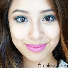 Fun Summer Makeup Look! Check out the YouTube tutorial for this look! :)