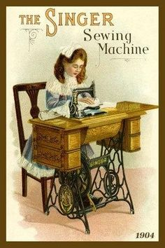*The Singer Sewing Machine* by aurelia