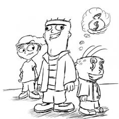 Ed Edd N Eddy Coloring Pages 327 Free Printable Coloring Pages