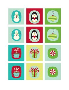 free printable + a roundup of Christmas ideas - simple as that