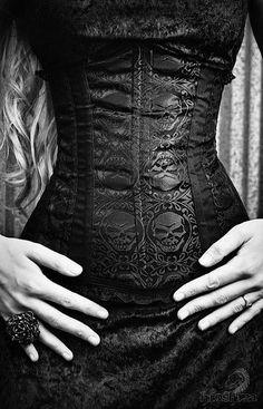 Love the corset.