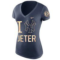 Celebrate your fandom with this New York Yankees Derek Jeter Retirement v-neck tee from Nike, and check out all the new Jeter merchandise at Fanatics.com!