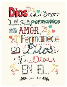 1 Juan 4, 16