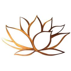 Metal Flower Wall Art, Copper Wall Art, Metal Flowers, Metal Wall Art, Art Flowers, Copper Metal, Lotus Flower Art, Lotus Art, Flower Logo