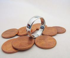 Smelt your own zinc ring from pennies - instructions for smelting your own rings